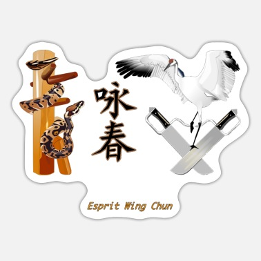 Wing chun legende - Sticker