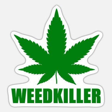 weedkiller - Sticker