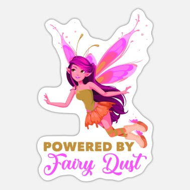 Fairy elf sprookje - Sticker