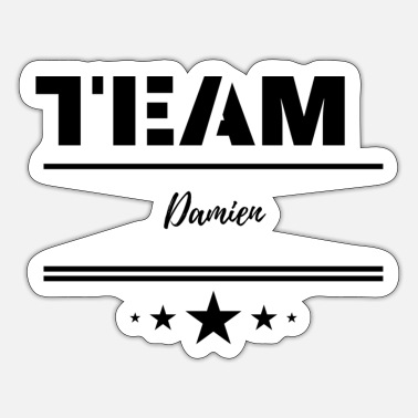 Team Damien - Sticker