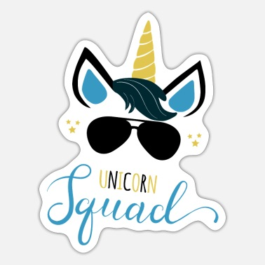 Stardust Unicorn Squad Unicorn Party JGA Gift - Sticker