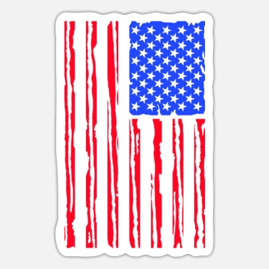 Stars And Stripes Stars And stripes - Sticker