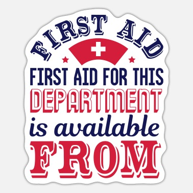 Knights Cool gift idea for all first responders - Sticker