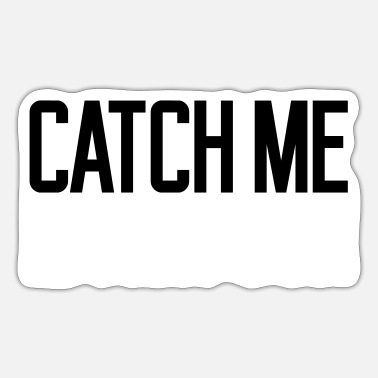 Speed Frenzy Mirrored Catch Me - Sticker