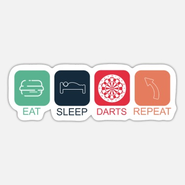 Darts Darts champions darts dart player gift - Sticker