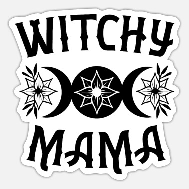 Witchy Witchy Mama - Sticker