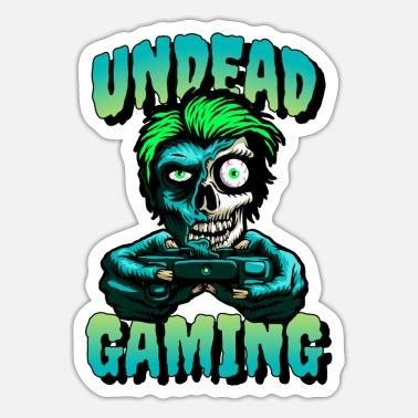 Undead undead gaming - Sticker