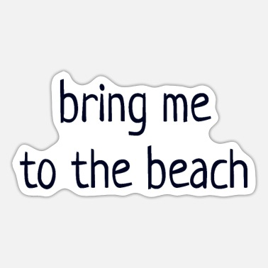 Beaches Beach - Sticker