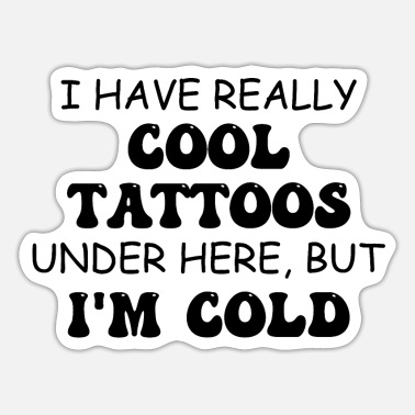 Tattoo Tattoo Lovers Artist Humour Tattooed Person Gift - Sticker