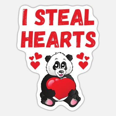 Steal I STEAL HEARTS - Sticker