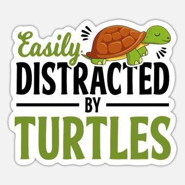 Turtle Turtle And Turtle - Sticker