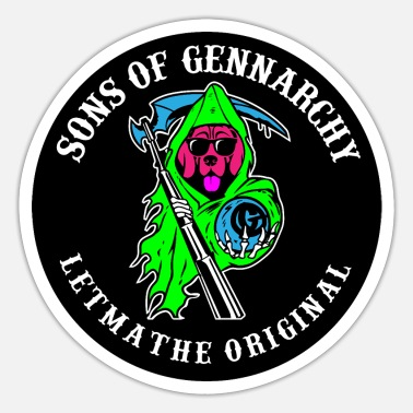 Sons Of Anarchy SOG - Sticker