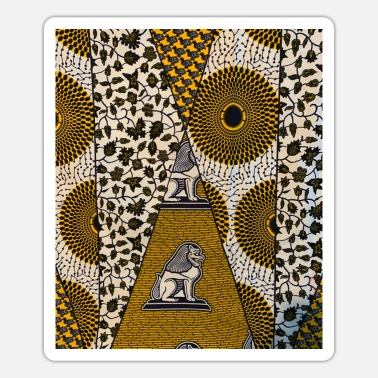 African african pattern,traditional african style,african - Sticker