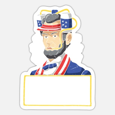 Demokrat Abraham Lincoln - Sticker