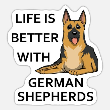 Shepherd Dog Shepherd Dog Owner Cute Saying - Sticker