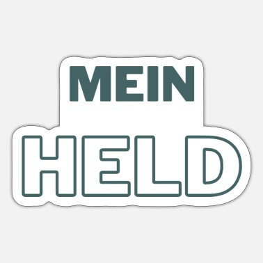 Held Mein Held - Sticker