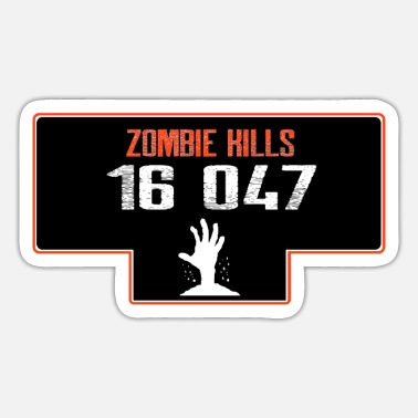 Infection DFTS141 zombie kills - Sticker