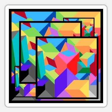 Picture Abstract Picture Poster - Sticker