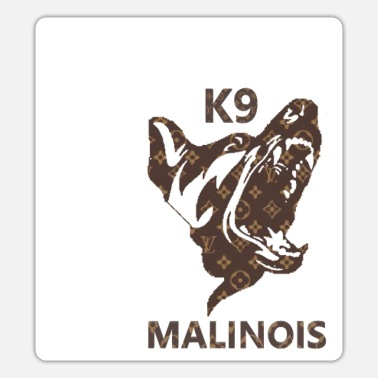 K9 Hund K9 MALINOIS - Sticker