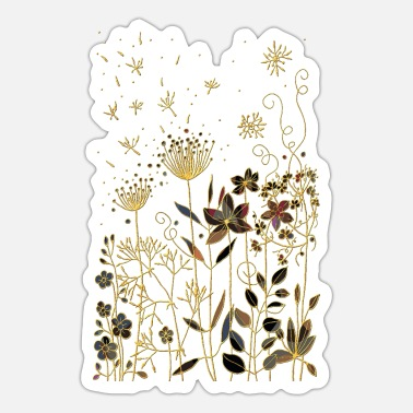 Coole Blomster - Sticker