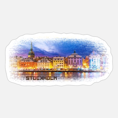 Swedish Stockholm Sweden - Sticker