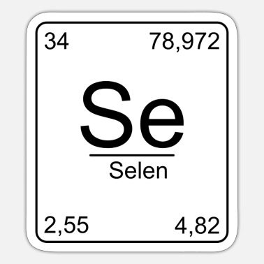 Chemical Formula Selenia, Periodic Table, Chemistry, Physics, Element, Pe - Sticker