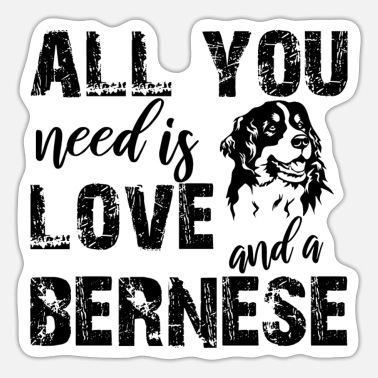 Bernese mountain dog - Sticker