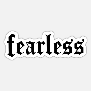 Fearless Fearless - Sticker