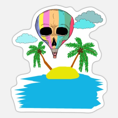 Holiday Island Holiday Holiday Ready Island Caribbean Trip - Sticker