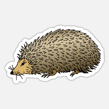 Spike Igel - Sticker