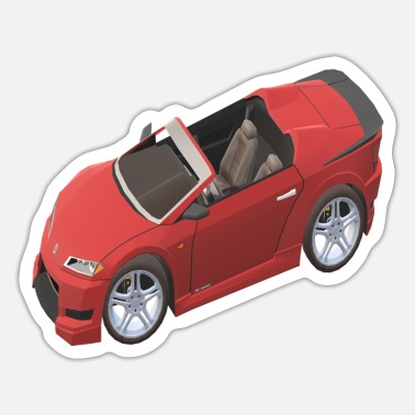 Streaker Racing car design - Sticker