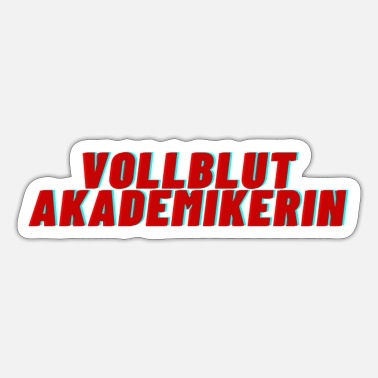 Vollblut Vollblut Akademikerin - Sticker