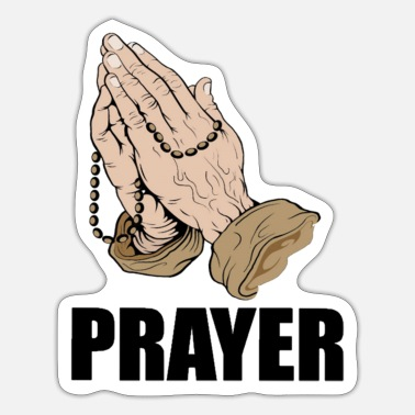 Prayers PRAYER - Sticker