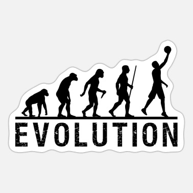 Basketball Evolution Chain - Sticker