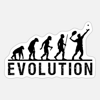 Tennis Evolution Chain - Sticker