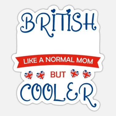 Great Britain Mother's Day, Mother's Day Jewish Mother's Day, Irish - Sticker