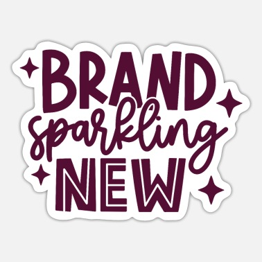 Everyday Life brand sparkling new - Sticker