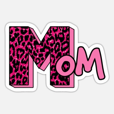 Moeder MTV Leopard - Sticker
