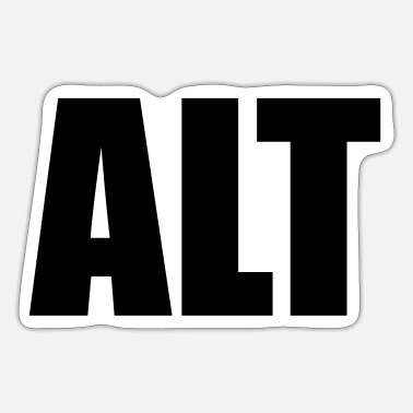 Alt Alt - Sticker