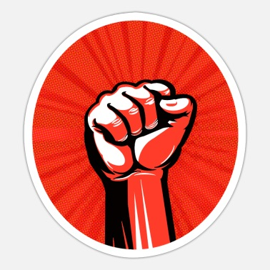 Poll Power punch - Power to the people - Sticker