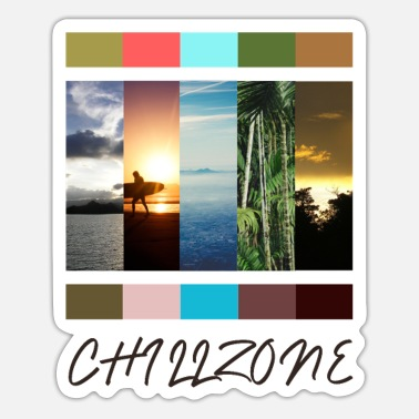 Chillzone - Sticker