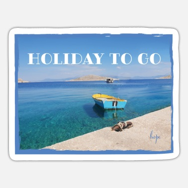 Holiday HOLIDAY TO GO - Sticker