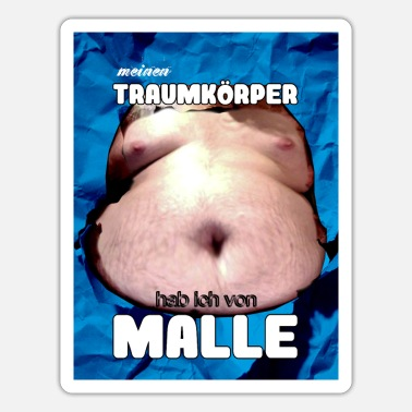 Eklig malle1gr - Sticker
