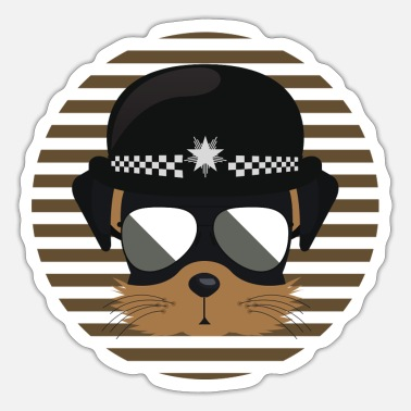 Police Dog Police Dog - Sticker
