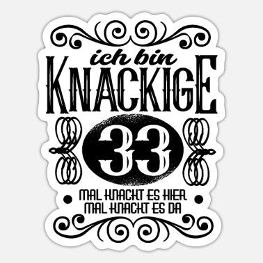 Frauen für 33 geburtstag 33+ Geburtstag