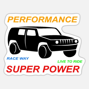 Super Power SUPER POWER - Sticker