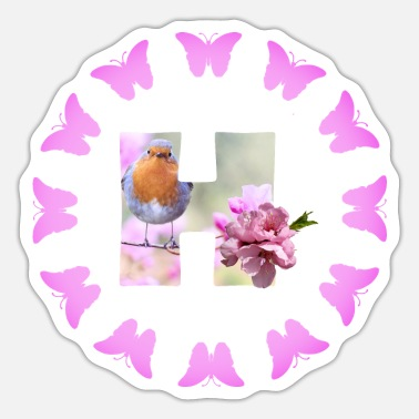 Fruit Tree fruit blossom h - Sticker