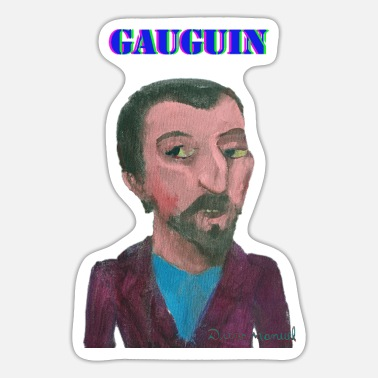 Soccer gauguin 1 - Sticker