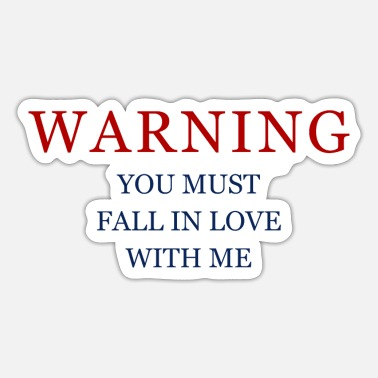 Warning Warning - Sticker
