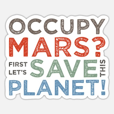Occupy Occupy Mars? - Sticker